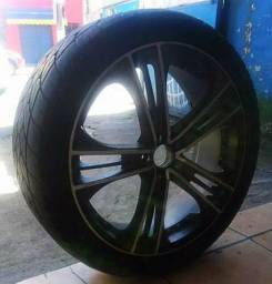 Rodas Aro 22 + 8 pneus