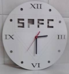 ca8b02be2d8 Relógio de Parede São Paulo em Mdf Branco
