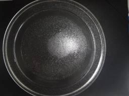 Prato para microondas - usado