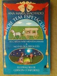 Hoje tem Espetáculo- Ana Maria Machado