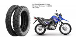 Par Pneu Original Yamaha Crosser Metzeler Tourance 90/90-19 110/90-17