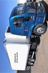 Ford Cargo 2429 2014 com baú refrigerado e equipamento Thermoking entrada com parcelas