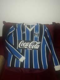 Camisa retrô do Grêmio 1989. Único dono