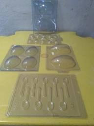 Kit Forma Ovo de Páscoa Tamanhos Variados