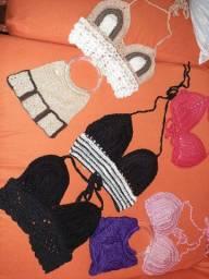 Últimas peças de crochê.  Novas