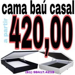 Cama baú casal 420,00 !!!! Mega promoção de cama baú !!! Confira !!!
