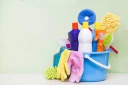 Faço diária de limpeza