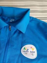 Camisa Cerimônia Jogos Olímpicos e Paralímpicos Rio 2016