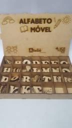 Alfabeto móvel - Brinquedos educativos e pedagógicos