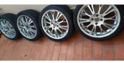 Rodas e pneus aro 17 barato