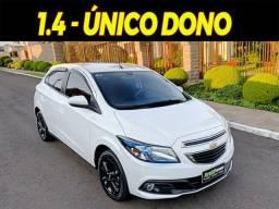 Chevrolet Onix 1.4 LT - 2015 -Branco - Único Dono - Opcionais do LTZ
