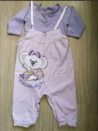 Macacão e blusa Lilica Ripilica 6 - meses