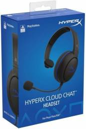 Headset Gamer Hyperx Cloud Chat PS4