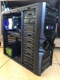 CPU Gamer Intel Core i7/ 16GB de RAM/ GTX 980ti/ SSD 256GB + 1TB/ Aceito cartão