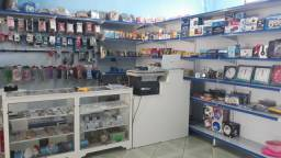 Projeto 3D e montagem completa de lojas de utilidade, todos os equipamentos