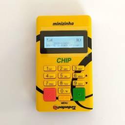 Minizinha Chip - Pagseguro - Na Caixa - 5 anos de Garantia