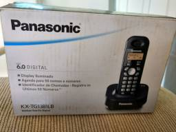 Telefone sem fio Panasonic.