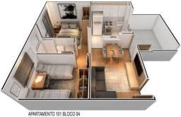 P Minha Casa Minha Vida em Rio Doce, Apartamento 2 Quartos com Lazer!