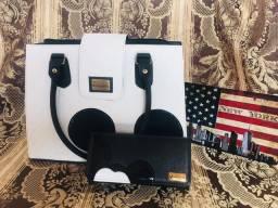 Bolsa + carteira mickey com alça