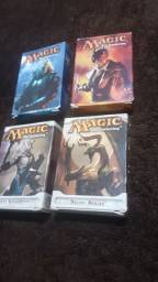 4 Deck Magic the Gathering Completos Sorin vs Tibalt e Ajani vs Nicol Bolas