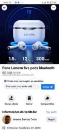 Fone Lenovo LP1