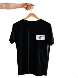 Kit Camisetas Pretas Personalizadas - Evangelicas Gospel