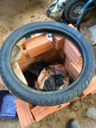 Barbada pneu para moto