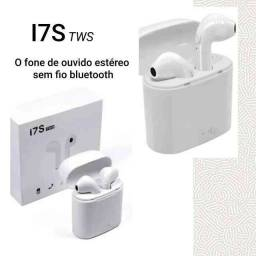 Fone de Ouvido sem fio Bluetooth i7s