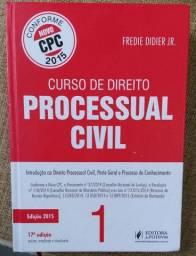 LIVRO: CURSO DE DIREITO PROCESSUAL CIVIL (FREDIE DIDIER)