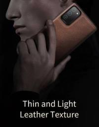 Capa case de couro para Galaxy Note 20 Ultra
