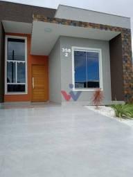 Casa com 3 dormitórios à venda, 55 m² por R$ 285.000,00 - Eucaliptos - Fazenda Rio Grande/