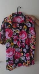 Camisa floral Unissex