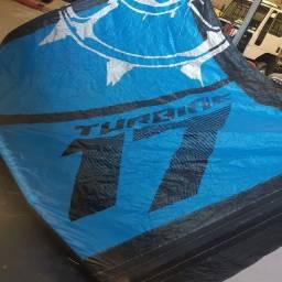 Título do anúncio: Kitesurf 17 metros Slingshot turbine ano 2016