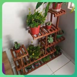 Prateleira para plantas e objetos