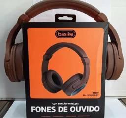 Fone HeadPhone Basike Linha Premium (ENTREGA GRÁTIS)