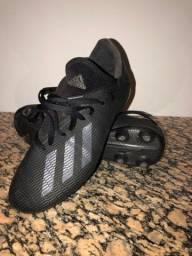 Chuteira campo Adidas X 19.3 Black