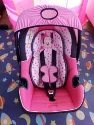 Bebê conforto Minnie rosa até 13kg