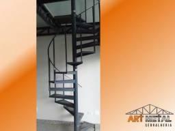Escadas Caracol,  Escadas  retas e mais