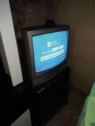Tv com o conversor digital