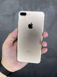 Excelente opção ( iPhone 7 Plus de 128 Gb Gold Lindooo ) Mostruário