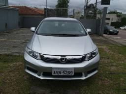 Honda Civic LXL 2012 Único dono PLACA A