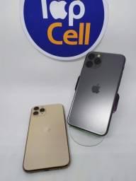 IPHONE 11 PRO 256GB CINZA/GOLD SEMINOVO