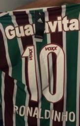 Camisa Fluminense Oficial Ronaldinho 2015