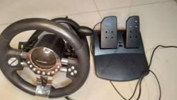 Play station Aberto com volante sensor 500