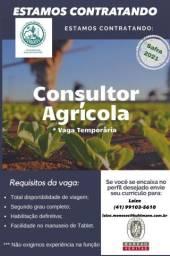 Vaga consultor agrícola