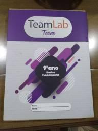 Livros nono ano robótica TeamLab ( promoção relâmpago)