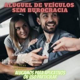 ALUGO VEÍCULOS PARA APLICATIVOS OU PESSOAL