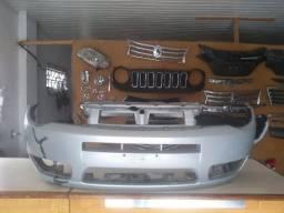 Parachoque dianteiro Fiat Palio 06 a 14 original