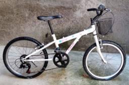 Bicicleta Caloi Ceci aro 20 - 7 Marchas