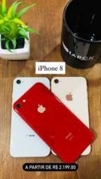 IPhone 8 64Gb Seminovo com garantia! 12x R$ 209,00